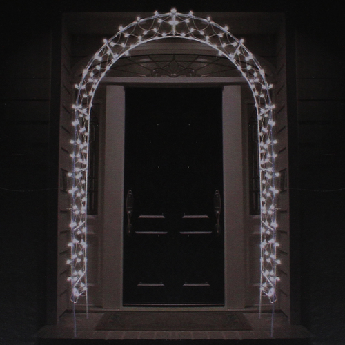 8 Lighted Entryway Front Door Archway Christmas Yard Art