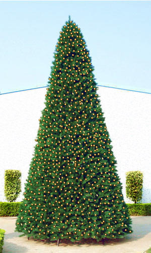 Artificial Pre Lit Christmas Trees For Sale