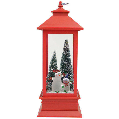 10 5 snowmen with trees red led lighted christmas lantern for 180 degrees christmas decoration