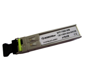 Gigabit 1.25G 60Km BiDi single strand SFP B type Tx:1550nm (SFP-7060-WB)