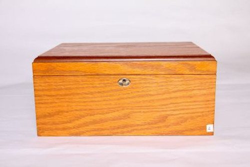 Oak 75-100 Count Humidor