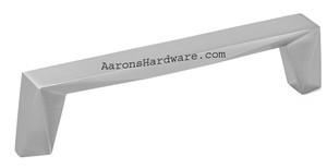 2312-1BPN-P Cabinet Handle Brushed Nickel 128mm Hole Spacing