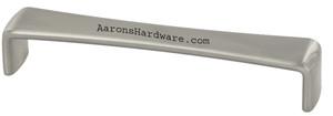 9373-96-BNI Cabinet Pull In Brushed Nickel Brushed Black Silver Or Polished Chrome