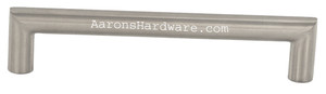 9781-128-HSS Bar Pull Cabinet Handle In Stainless Steel And Many Hole Spacings