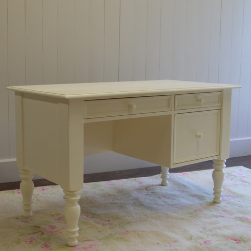 Cottage Desk French White
