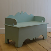 Harry's Storage Bench- Aqua