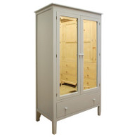 Beatrice Armoire- Gustavian Gray