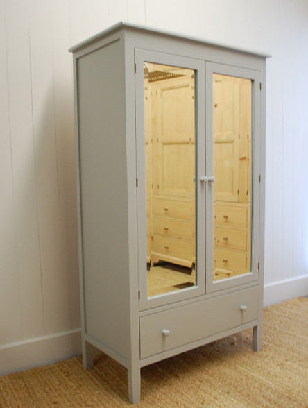 Beatrice armoire - Gustavian Gray