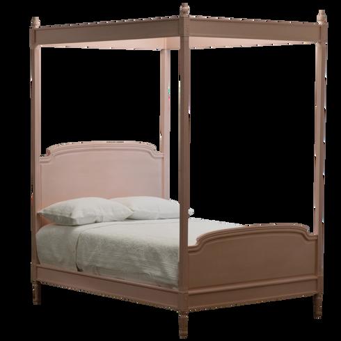 EFF-2748 Madeline Four Poster Bed - Pink