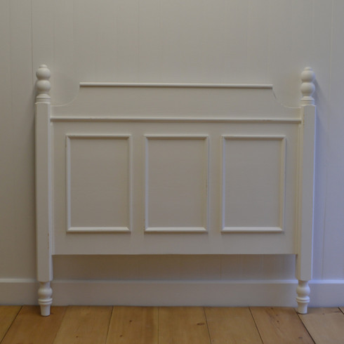 French Country Headboard White