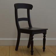 English Farmhouse Chair - Brown Walnut