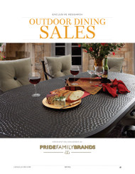 Casual Living Outdoor Dining Metro Market Projections, 2015
