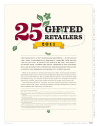 Gifts and Decorative Accessories 25 Gifted Retailers 2011