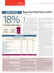 Home & Textiles Today Database: Area Rugs 2015