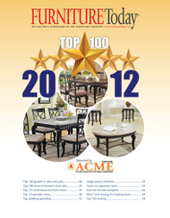 Furniture Today's Top 100 Furniture Stores for 2012