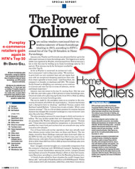 HFN Top 50 Retailers in Home Furnishings for 2016