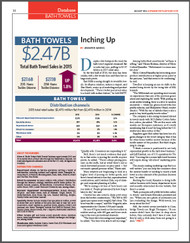 Home & Textiles Today Database: Bath towels 2016