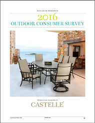 Casual Living's Outdoor Consumer Survey, November 2016