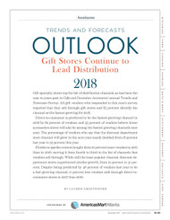 Gifts & Dec Trends and Forecasts for 2018