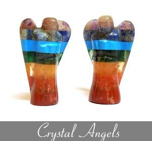 Crystal Angel Figurines