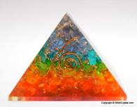 Chakra Chips Orgone Pyramid - 40 - 45 mm