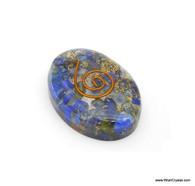 Lapis Lazuli Organite Oval Worry Stone