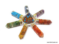 7 Chakra Orgonite Generator with 7 points EMF Protection