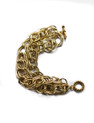 """MULTI STRAND GOLD RACELET   8"""" LONG, WILL MAKE TO SIZE"""
