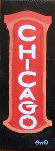 CHICAGO THEATRE SIGN - 962 by Otto Schneider
