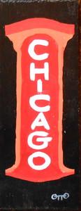 CHICAGO THEATRE SIGN # 963 - By Otto Schneider