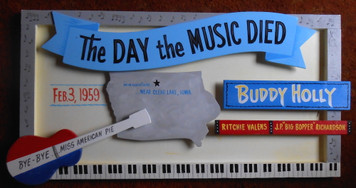 THE DAY THE MUSIC DIED - Buddy Holly - Richie Valens - Big Bopper by George Borum