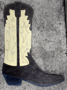 BIG WOOD COWBOY BOOT by George Borum