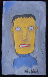 VAMPIRE - RAW - ART BRUT by Michael