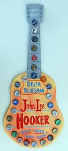 JOHN LEE HOOKER Guitar by George Borum