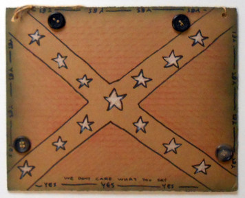 REBEL CONFEDERATE FLAG by Jaybird