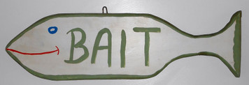 BAIT SIGN by Pops Casey
