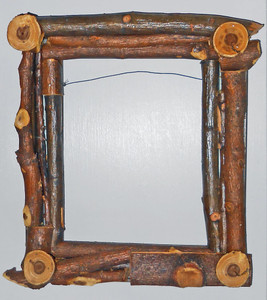 HEAVY TWIG PICTURE FRAME by Pops Casey