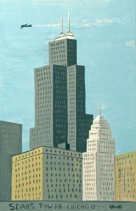 SEARS TOWER - WILLIS TOWER - CHICAGO by Otto Schneider