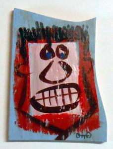 RAW ART on SCRAP WOOD by Otto Schneider