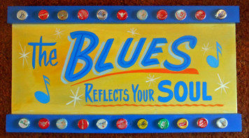 The BLUES REFLECTS YOUR SOUL  by George Borum
