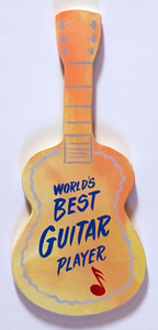 WOOD CUT-OUT GUITAR by George Borum
