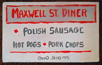 MAXWELL ST DINER - Chicago - by Otto Schneider