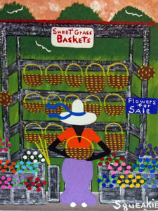 BAKET & FLOWER LADY (5) by Squeakie