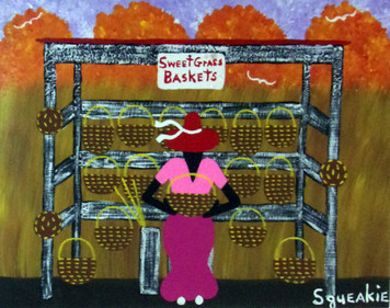 BASKET LADY (6) by Squeakie
