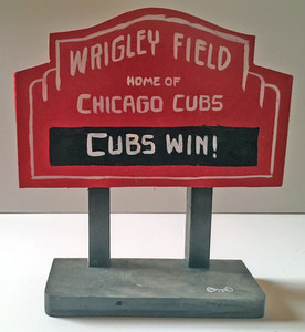 WRIGLEY FIELD - Cubs - SIGNPOST by Otto