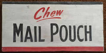 MAIL POUCH - OLD TIME SIGN by George Borum