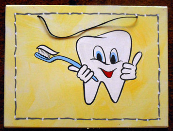 Tooth Sign for Dentist Office by George Borum