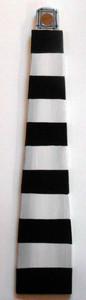 Black & White LIGHTHOUSE Wall Hanger by George Borum