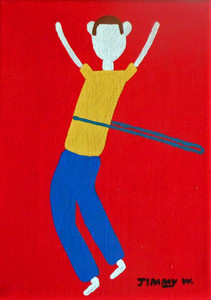 HULA HOOPING BOY by Jimmy W