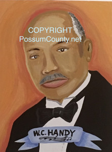 W. C. HANDY Painting by ALAN the Portrait Guy